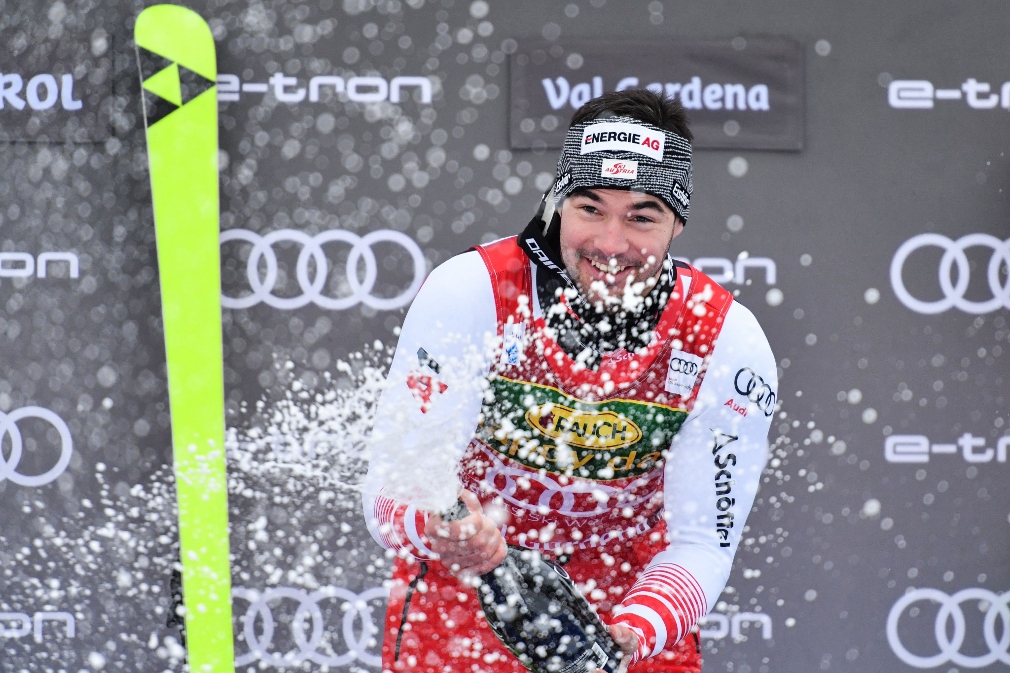 Austria's Kriechmayr wins fog-delayed super-G at FIS Alpine Skiing World Cup in Val Gardena