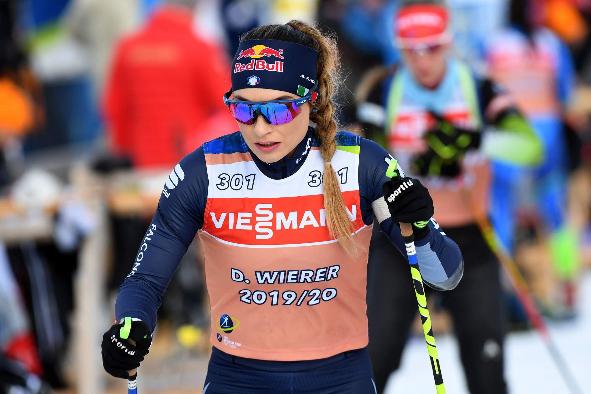 Dorothea Wierer of Italy finished the women's sprint in 22nd place ©Getty Images