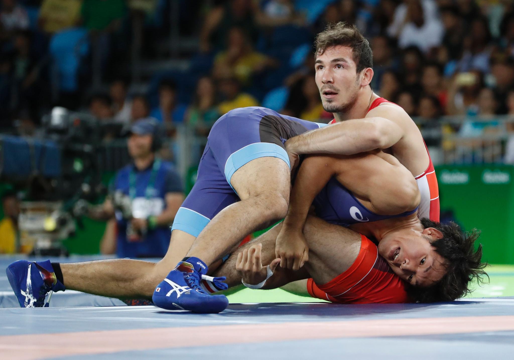 Wrestling World Championship bronze medallist suspended over positive drug test