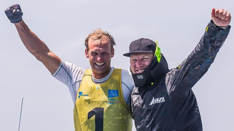 New Zealand's Junior wins world title as secures Finn Gold Cup in Melbourne