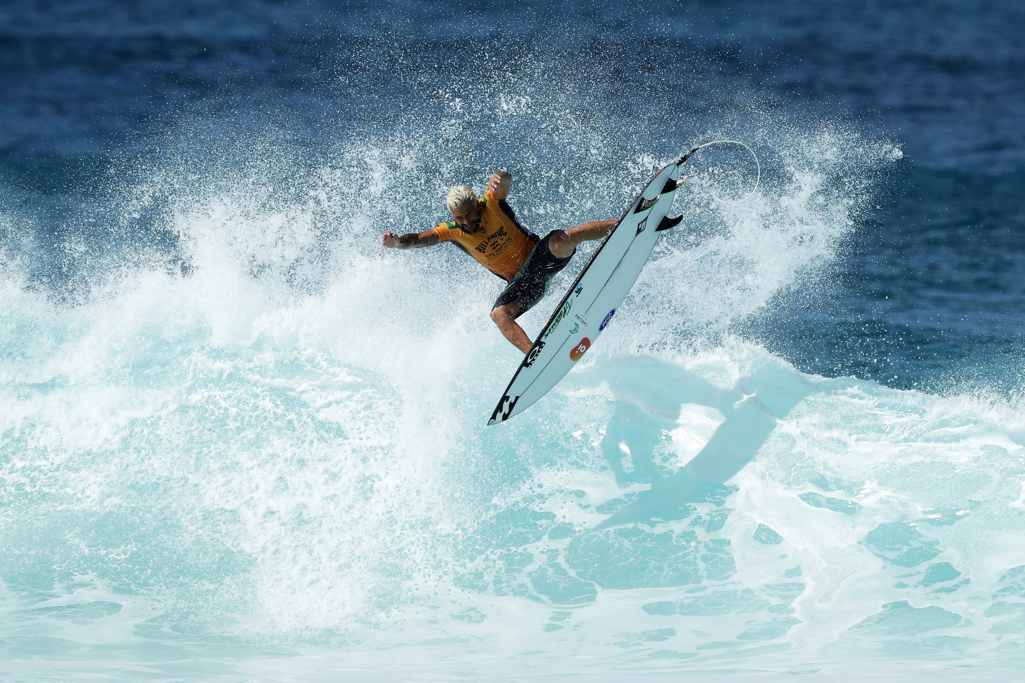 Ferreira clinches World Surf League crown but Olympic hopes of legend Slater dashed