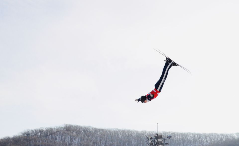The opening FIS Freestyle Ski Aerials World Cup competition of the season took place in China ©Twitter/FISFreestyle