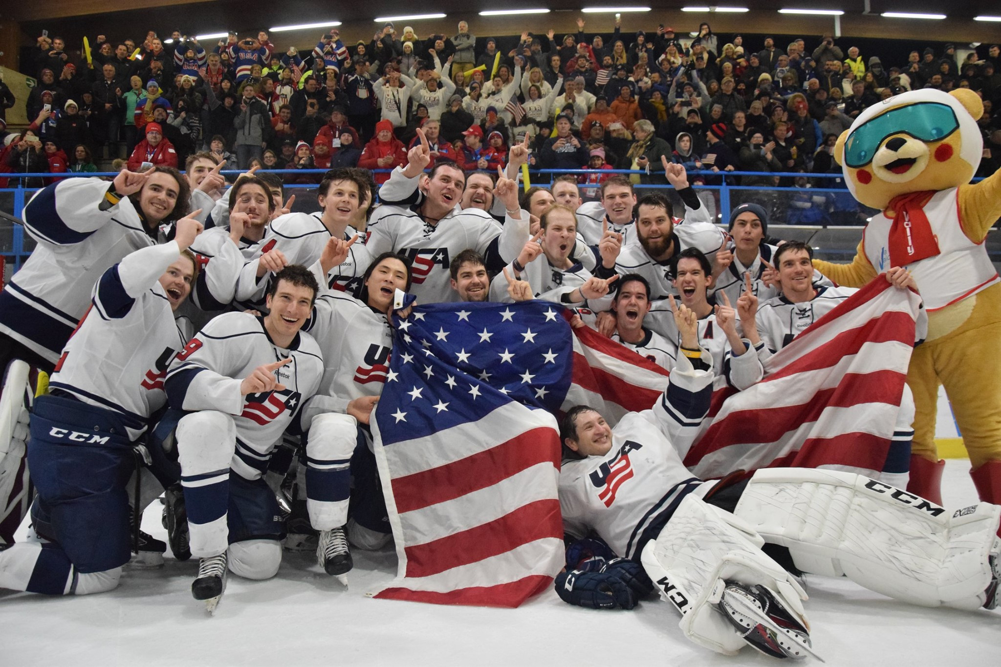 United States win ice hockey gold as Winter Deaflympics conclude