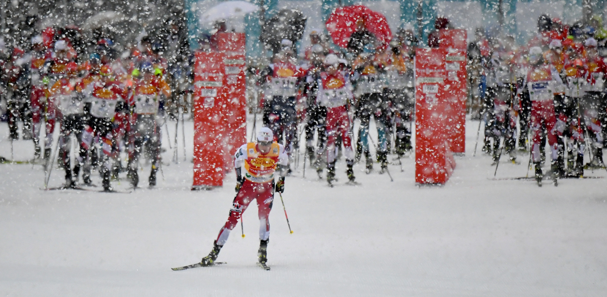 Riiber's unbeaten run at FIS Nordic Combined World Cup ends