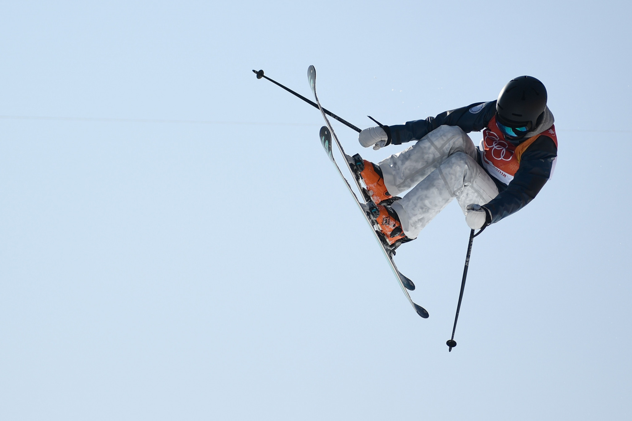 Valeriya Demidova of Russia earned her first career FIS Freeski Halfpipe World Cup win ©Getty Images