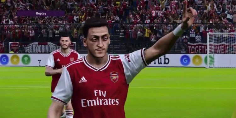 Özil likeness removed from video games in China after criticising treatment of Uighurs