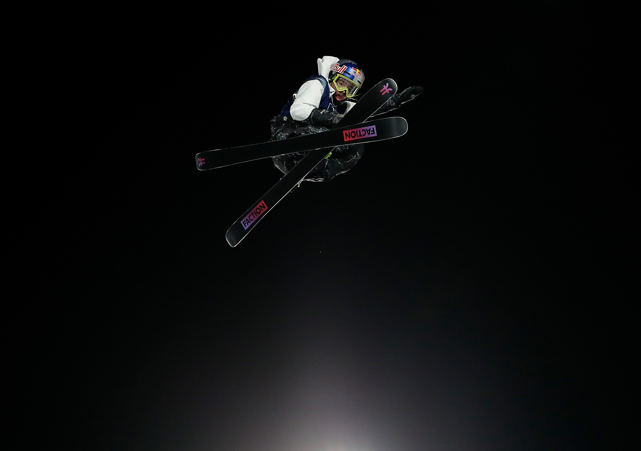 Mathilde Gremaud of Switzerland won the FIS Freestyle Ski World Cup event in Atlanta ©Getty Images