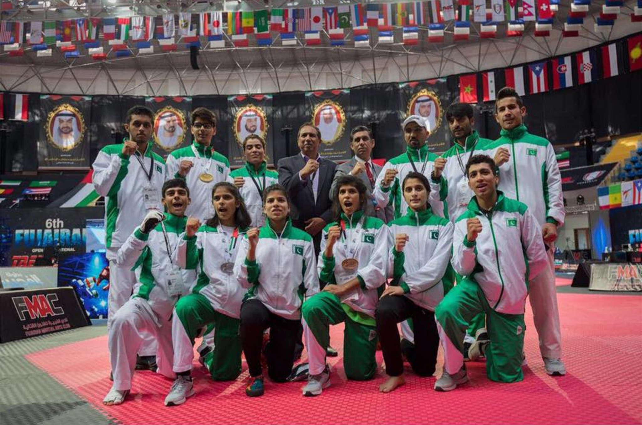 Pakistan will host their first international taekwondo competition next year ©PTK