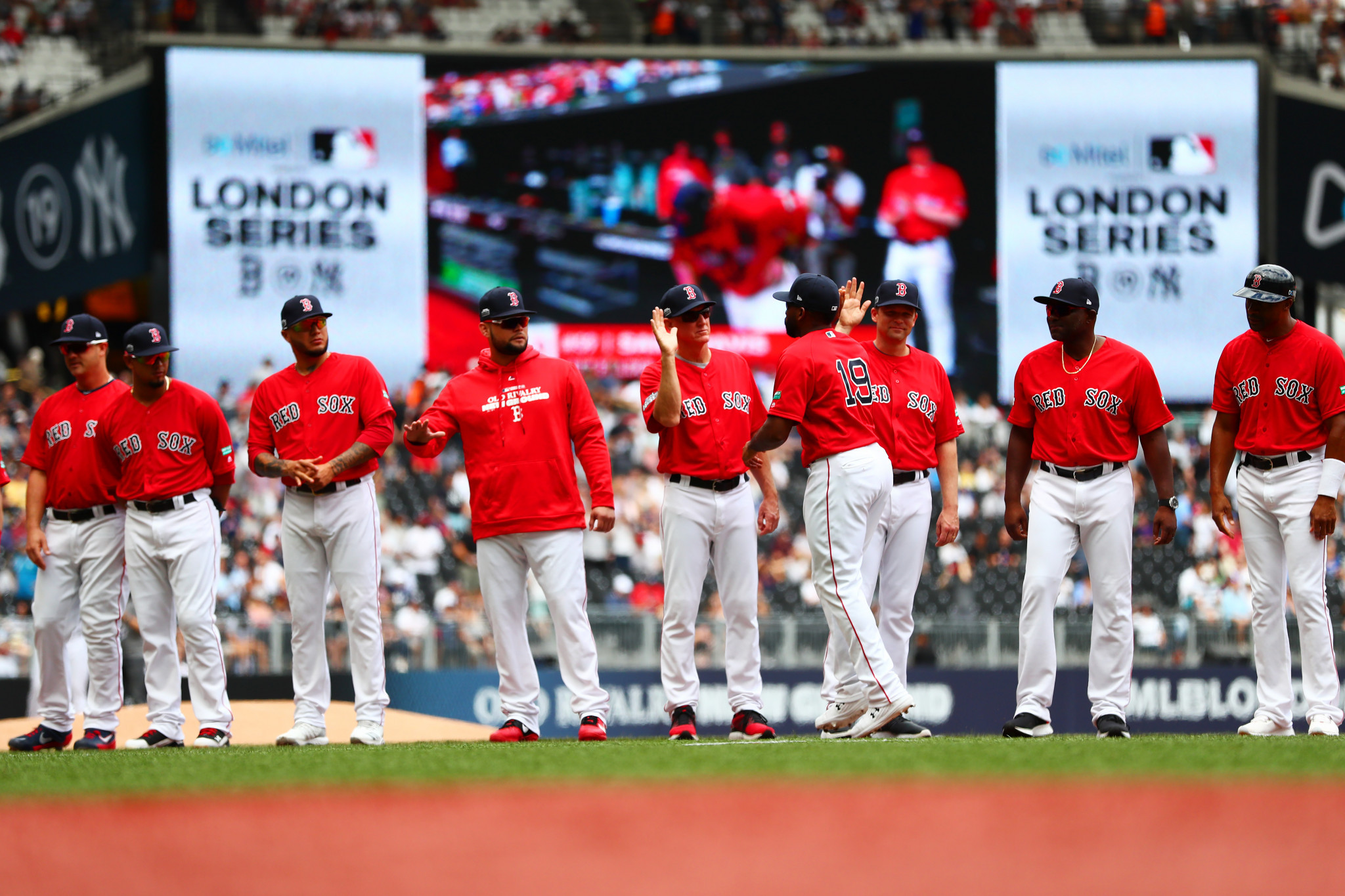 The London Series saw the first regular season MLB matches in Europe ©Getty Images