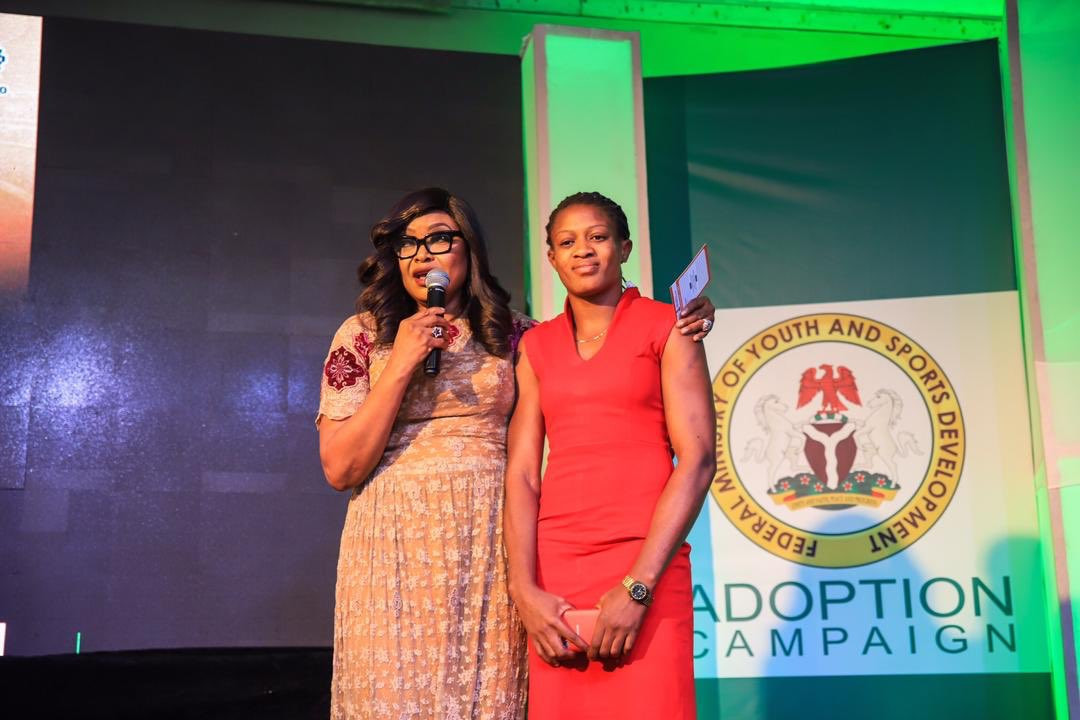 Nigeria's adopt an athlete initiative has been launched ©Twitter