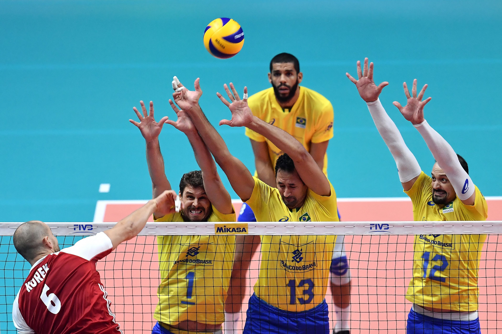Poland beat Brazil in last year's Men's World Championship final at Pala Alpitour ©Getty Images