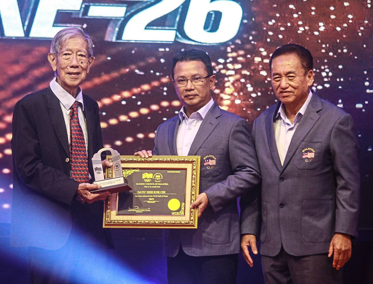 Olympic Council of Malaysia induct five into Hall of Fame