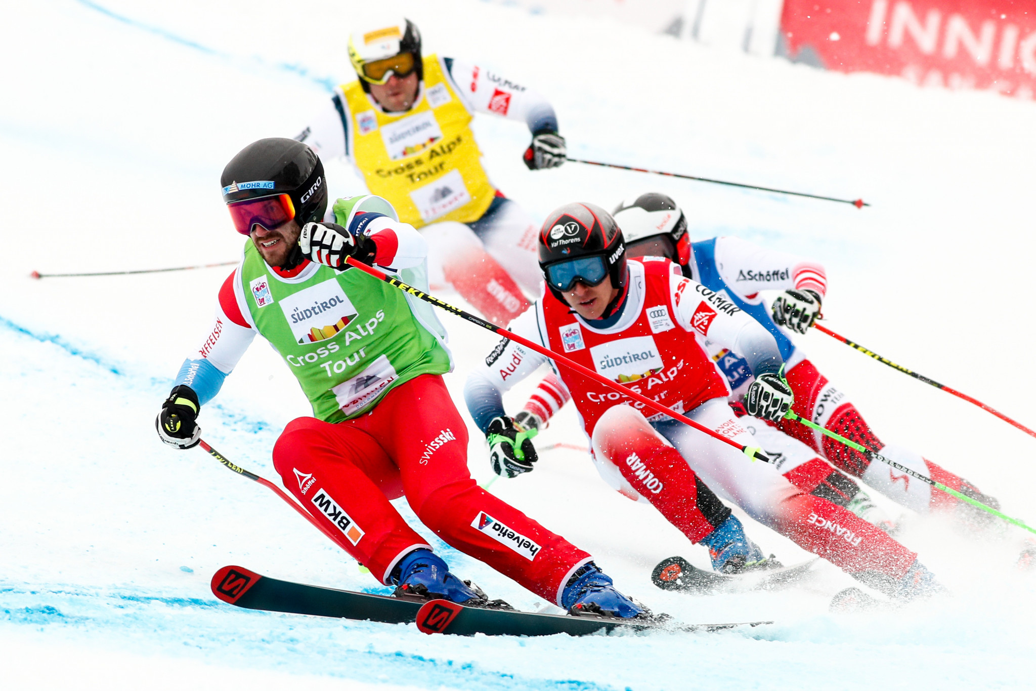 Swiss stars clinch wins at FIS Freestyle Ski Cross World Cup in Innichen