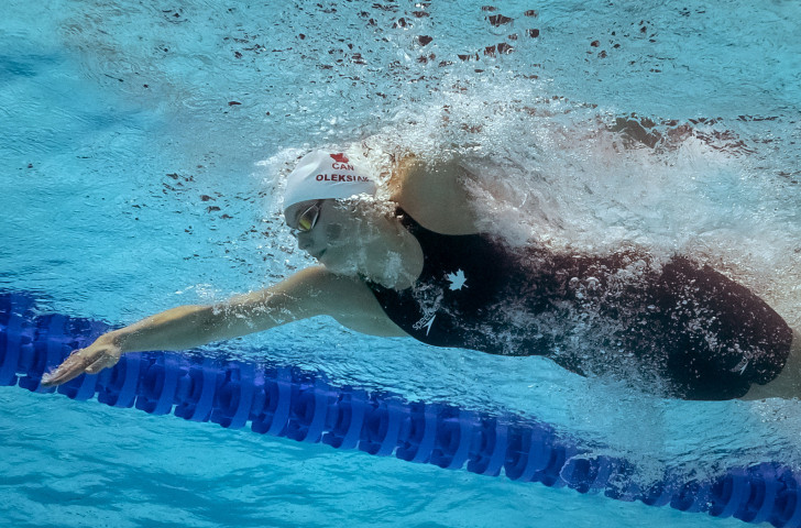 Canada's Olympic 100m freestyle champion Penny Oleksiak will be able to compete for a home-based team in next season's ISL following the establishment of a Toronto franchise ©Getty Images