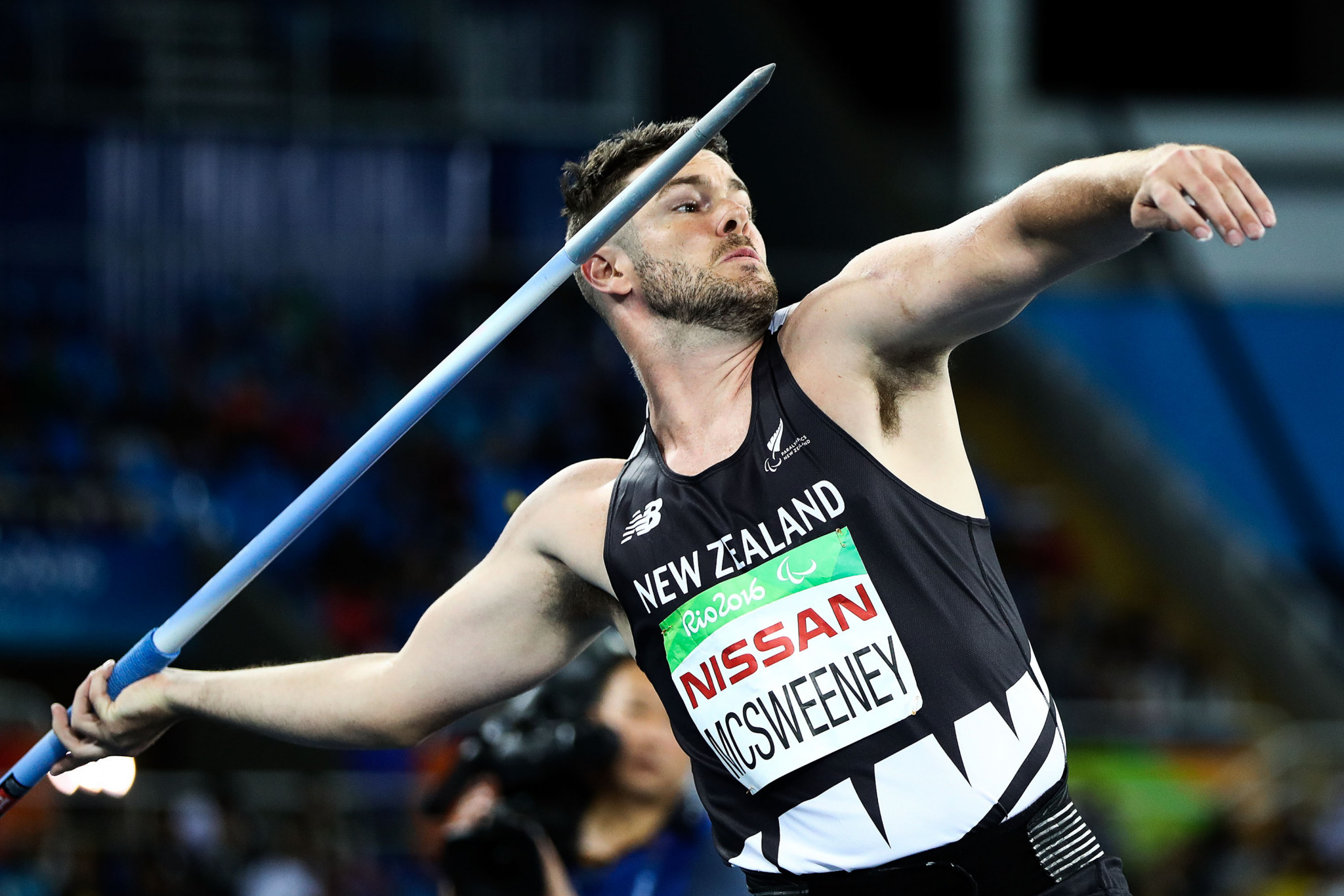 New Zealand's Paralympic javelin bronze medallist Rory McSweeney has announced his retirement at the age of 34 ©Getty Images