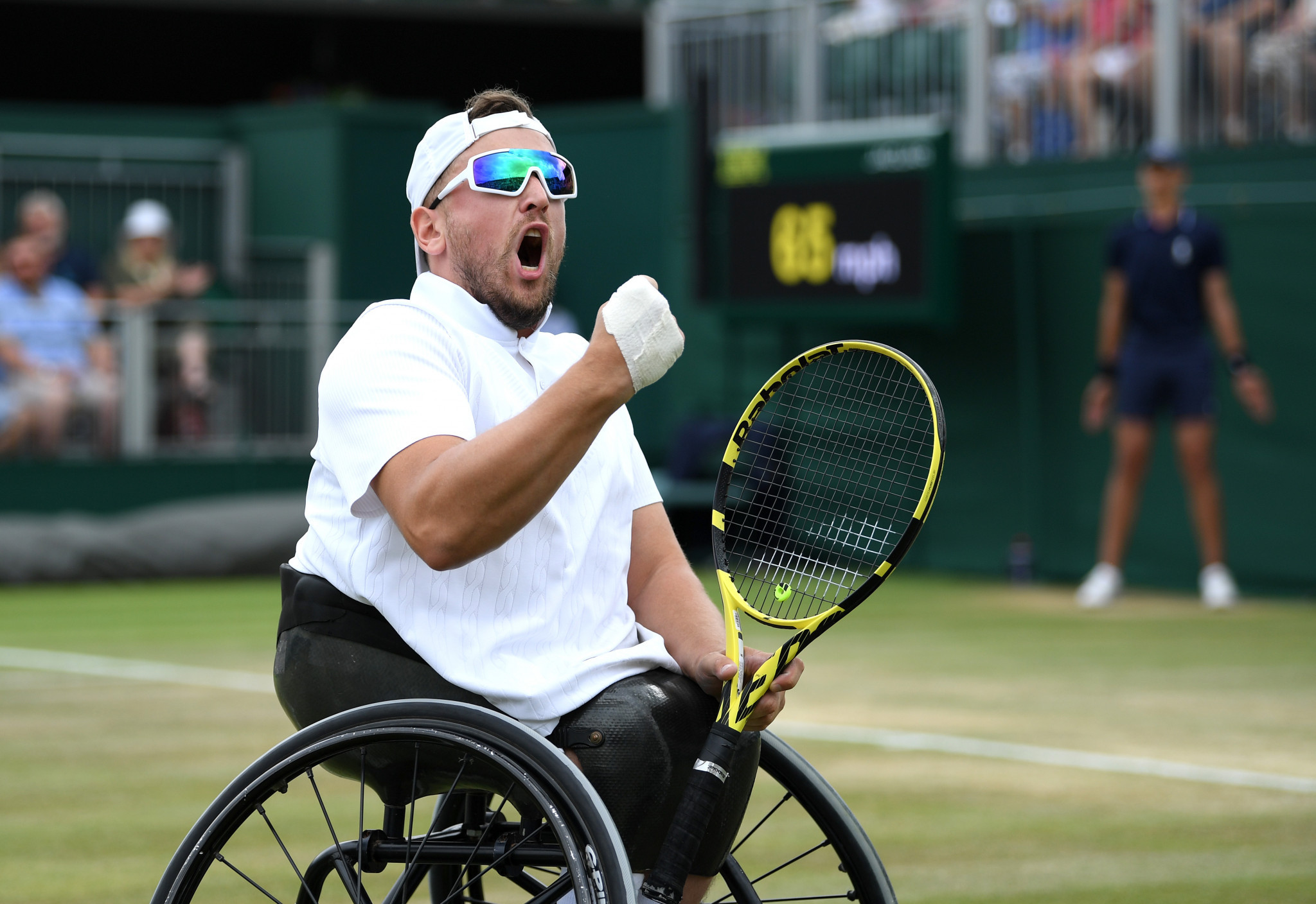 Alcott retains crown as ITF  quad world champion