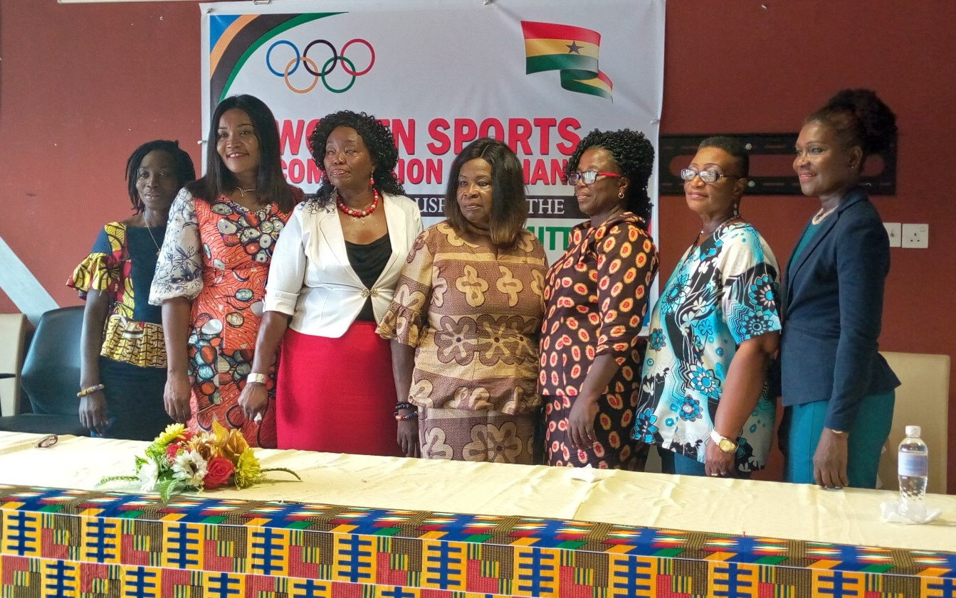 Ambassadors gather as Ghana Olympic Committee sets up Women in Sports Commission