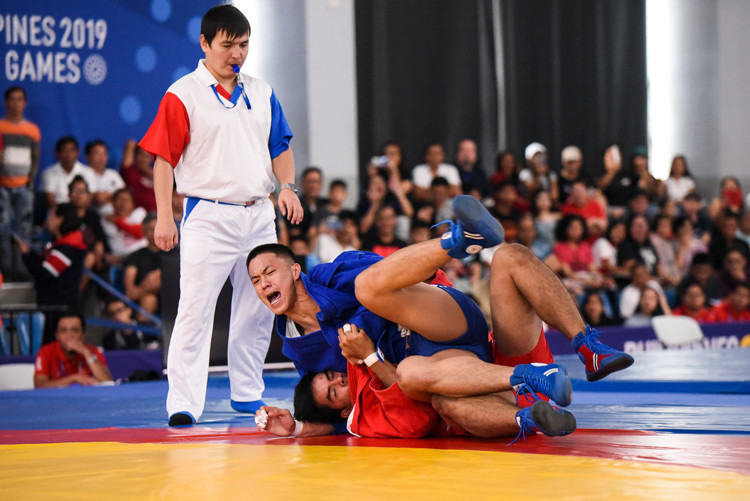 Sambo has established itself on the sports programme of numerous high-profile events ©FIAS