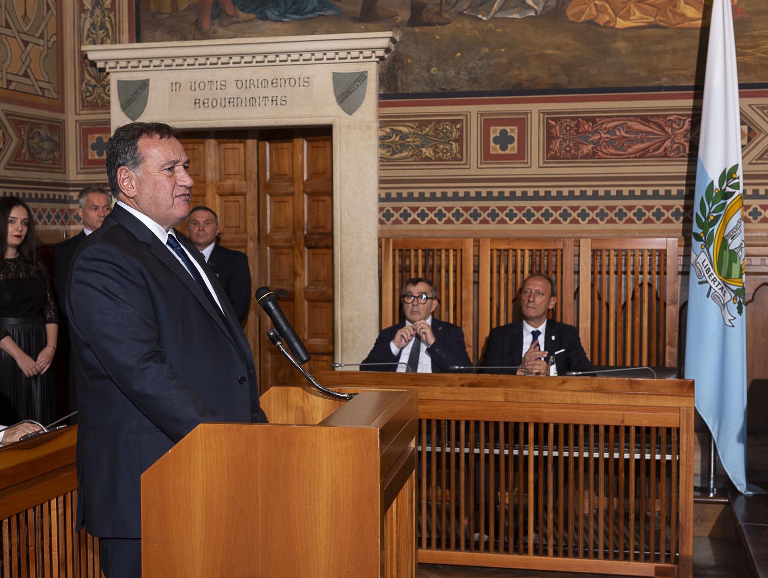 Sammarinese National Olympic Committee celebrates 60th anniversary