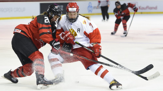 Canada survive scare to make winning start to title defence at IIHF World Women's Under-18 Championship