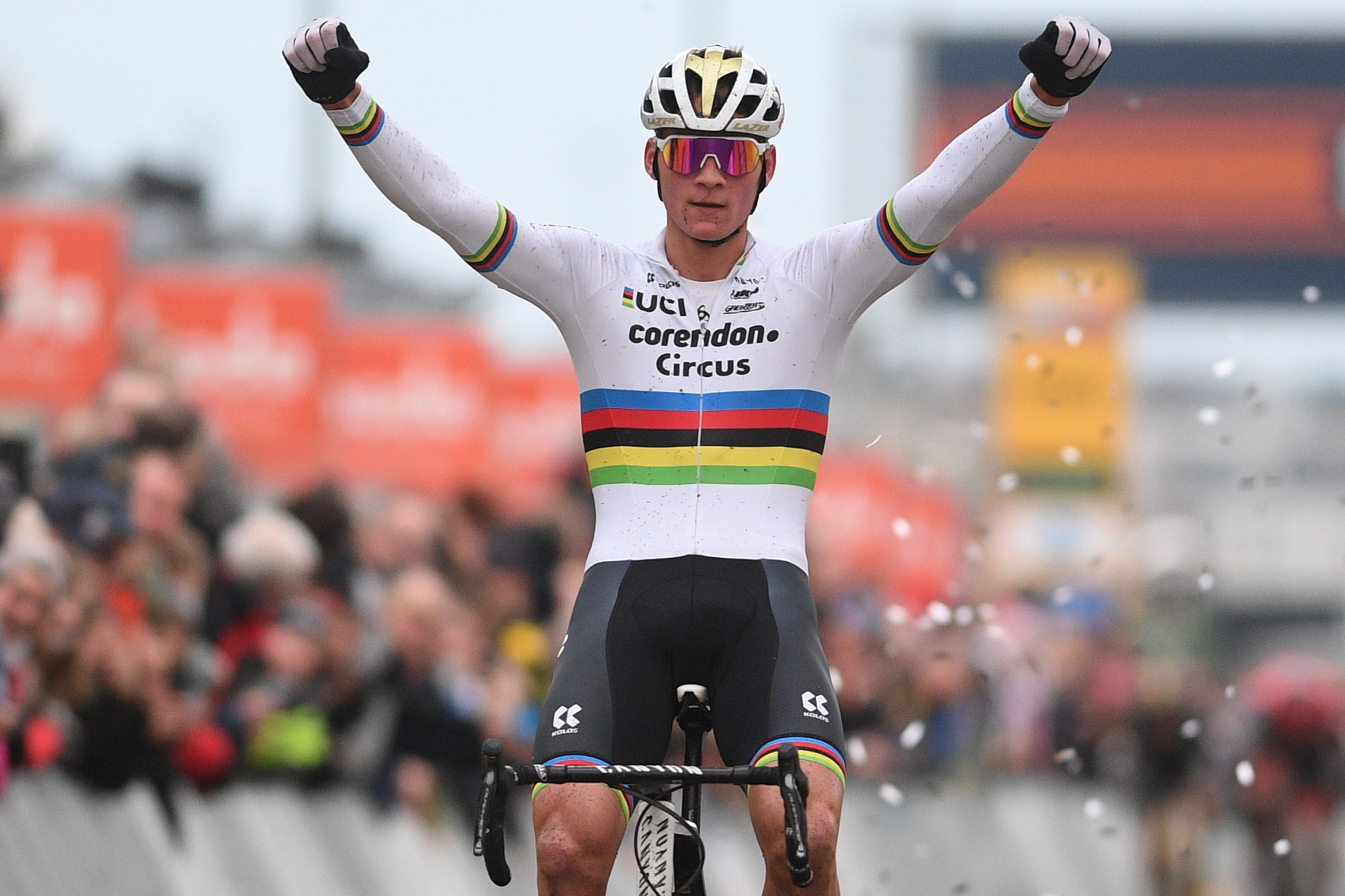 Van der Poel triumphs at UCI Cyclo-cross World Cup in Heusden-Zolder