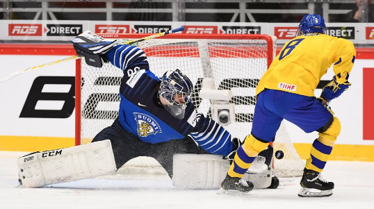 Sweden down holders Finland on day one of IIHF World Junior Championship