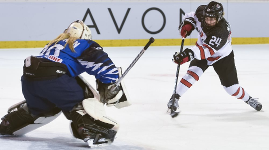Holders Canada beat Finland at IIHF World Women's Under-18 Championship