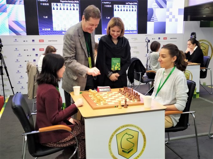 Four-way tie for lead in women's event at King Salman World Rapid Chess Championships