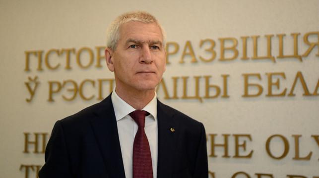 FISU President Oleg Matytsin praised Belarus' hosting of the second European Games ©NOC RB