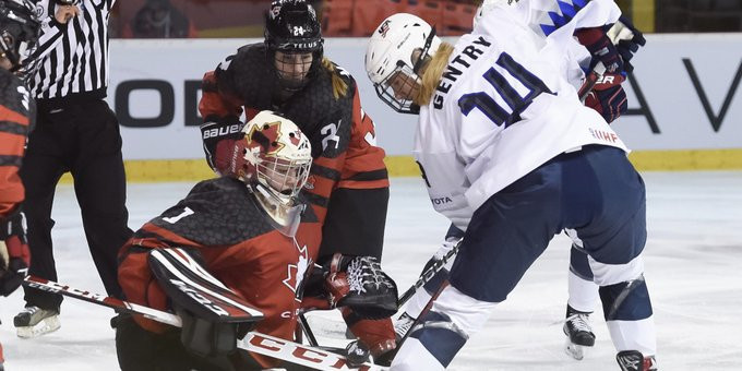 Goaltenders the stars as Canada beat US at IIHF World Women's Under-18 Championship