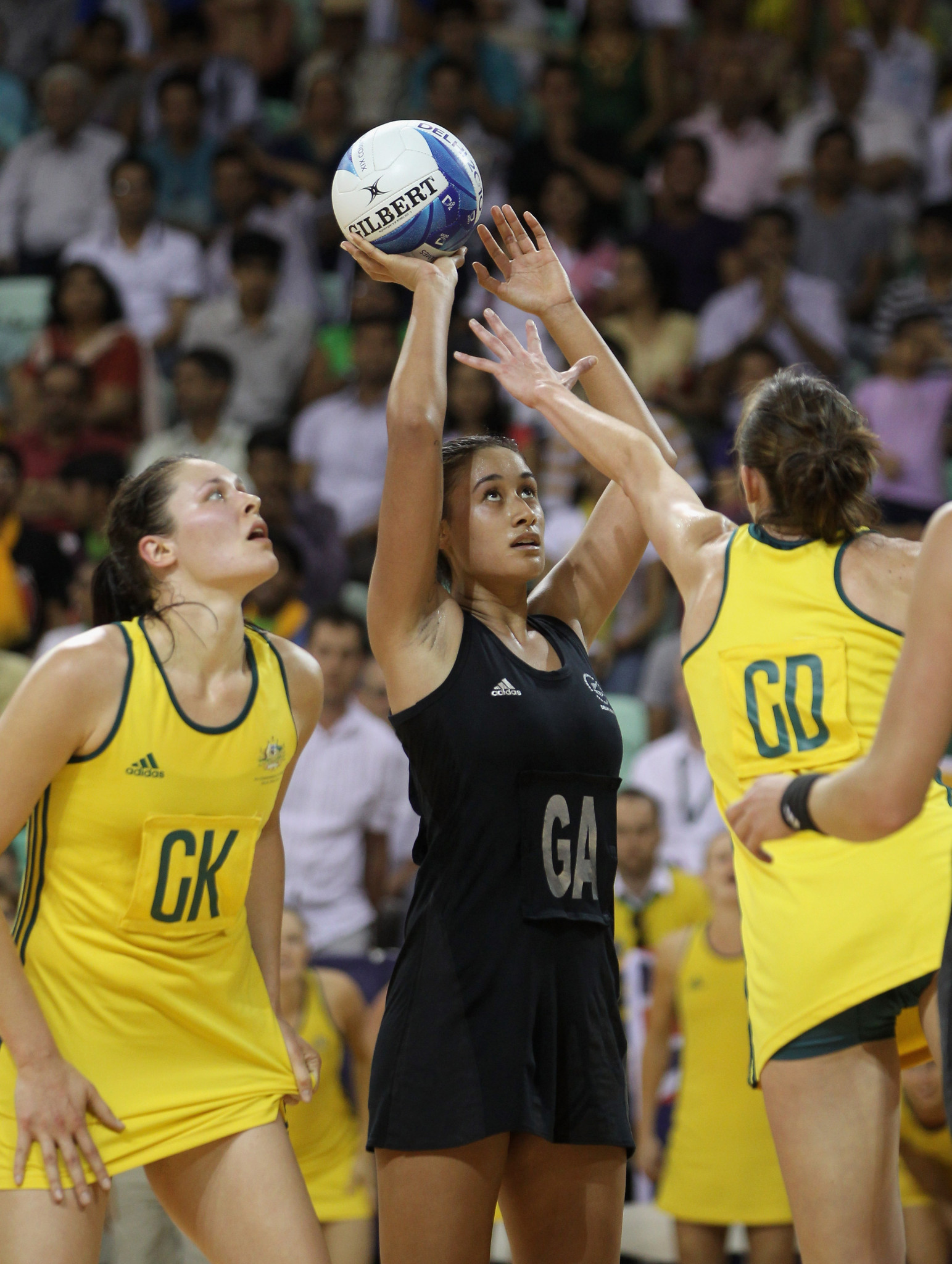 Maria Folau won two Commonwealth Games gold medals, including at Delhi 2010, when New Zealand beat Australia in the final with her scoring the winning goal in extra-time ©Getty Images