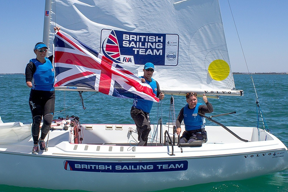 Britain hold off home challenge to win sonar gold at Para World Sailing Championships