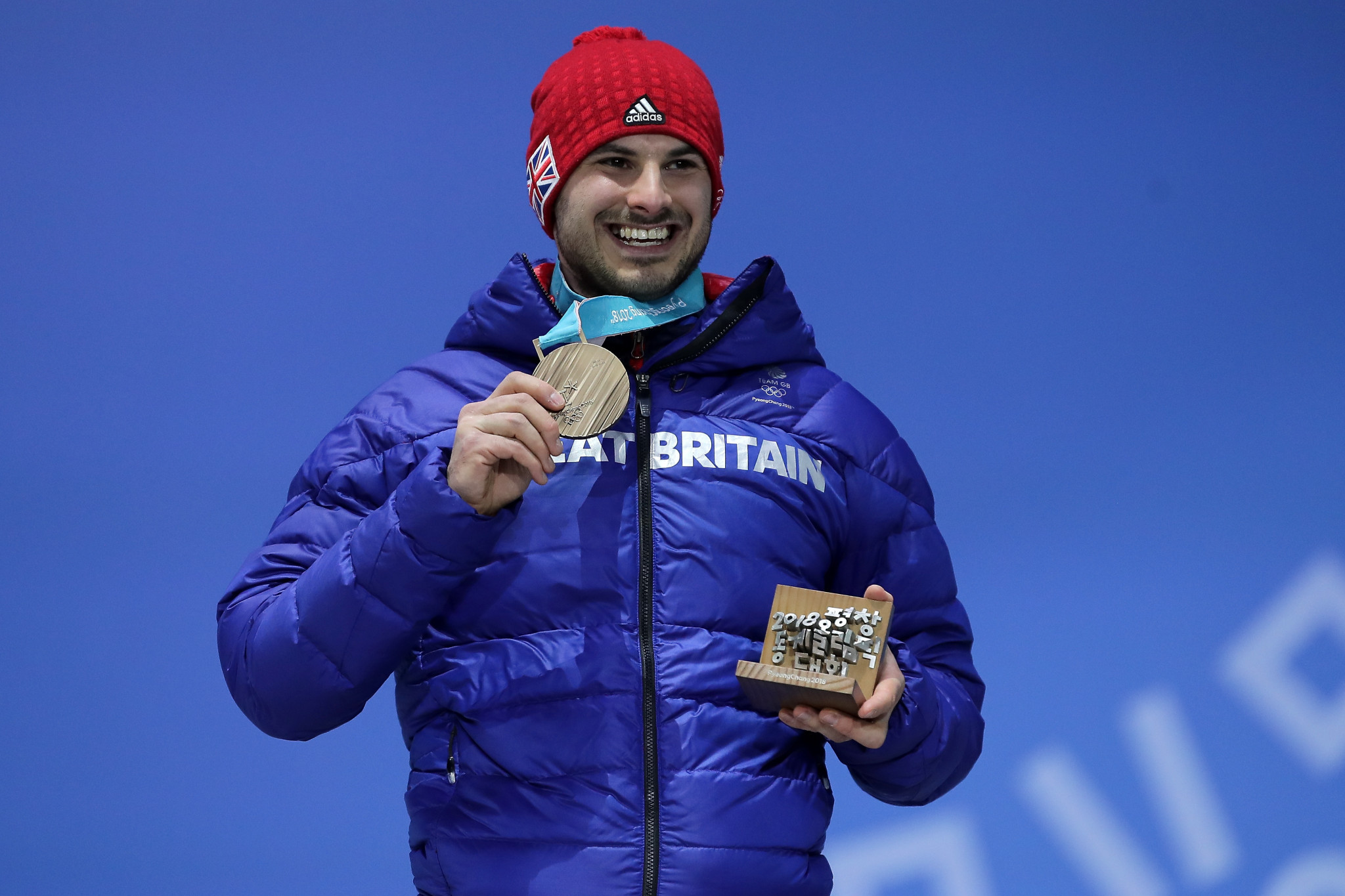 Dom Parsons' bronze medal at Pyeongchang 2018 was Britain's first won by a male in the sport for 70 years ©Getty Images