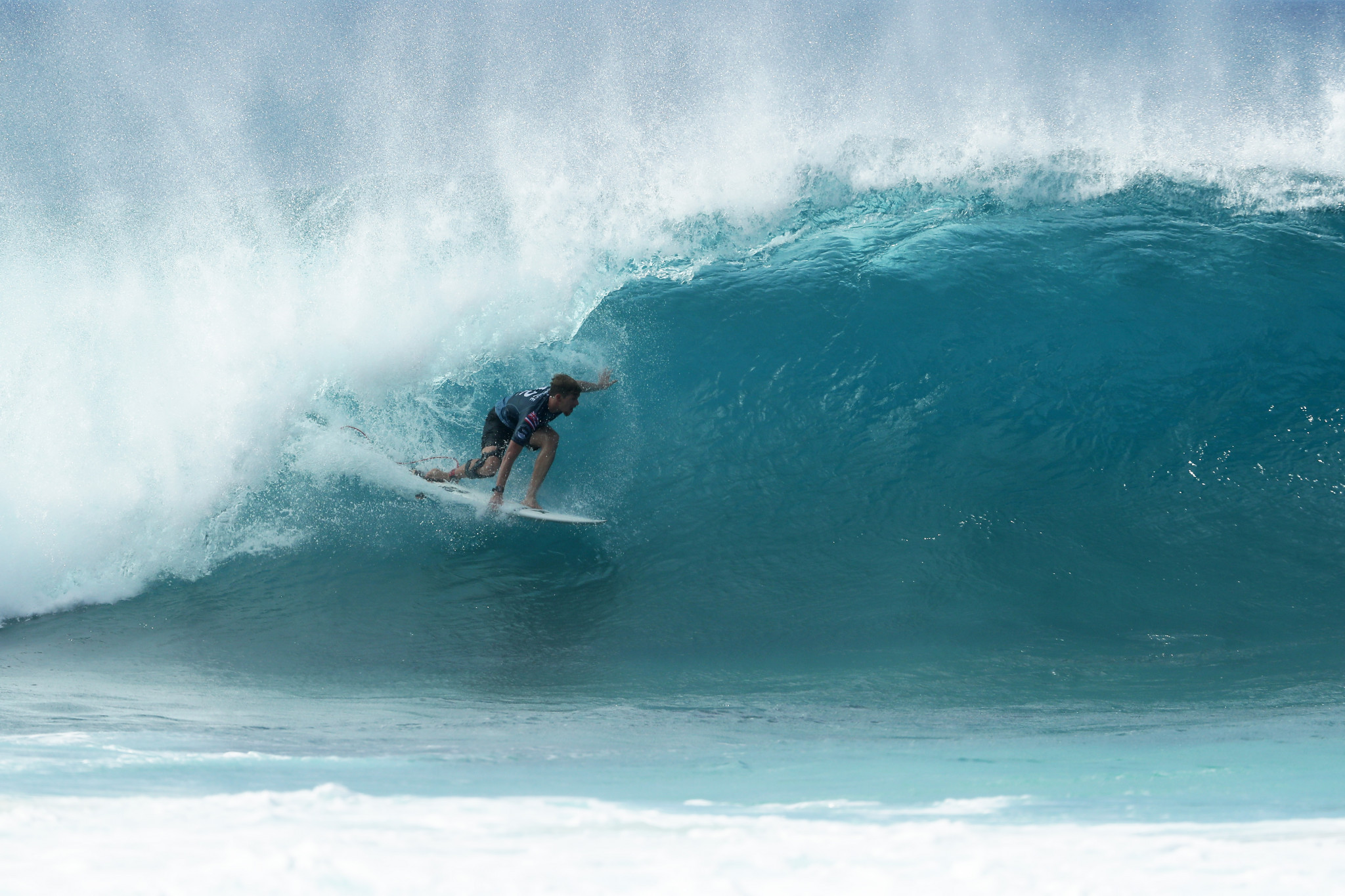 Two-time world champion John John Florence is part of the four-member American surf team for Tokyo 2020 ©Getty Images