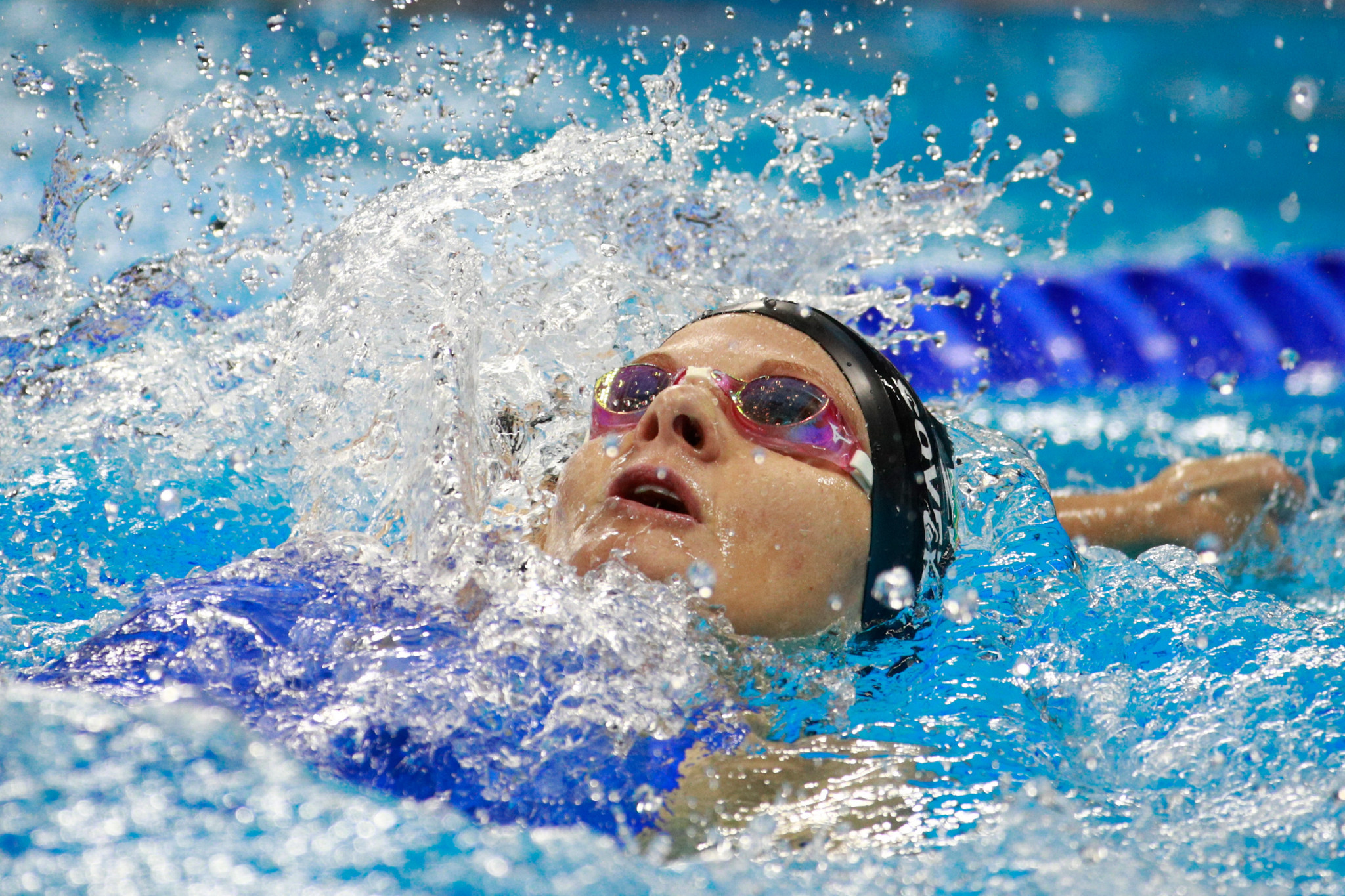 Former swimmer Kirsty Coventry has won seven of Zimbabwe's eight Olympic medals ©Getty Images