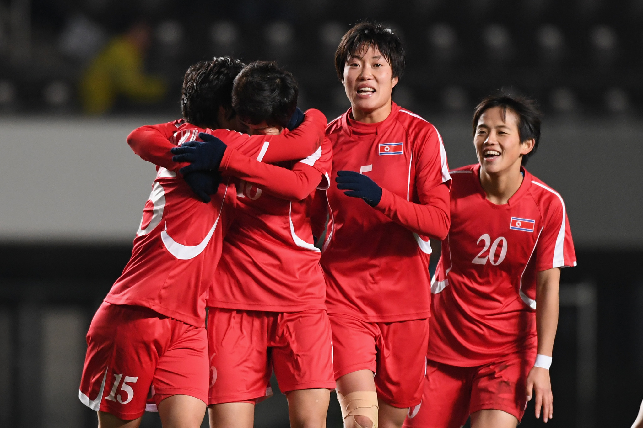 North Korea's decision to boycott the third round of the Women's Olympic Qualifying Tournament in South Korea next month has been confirmed by the AFC ©Getty Images