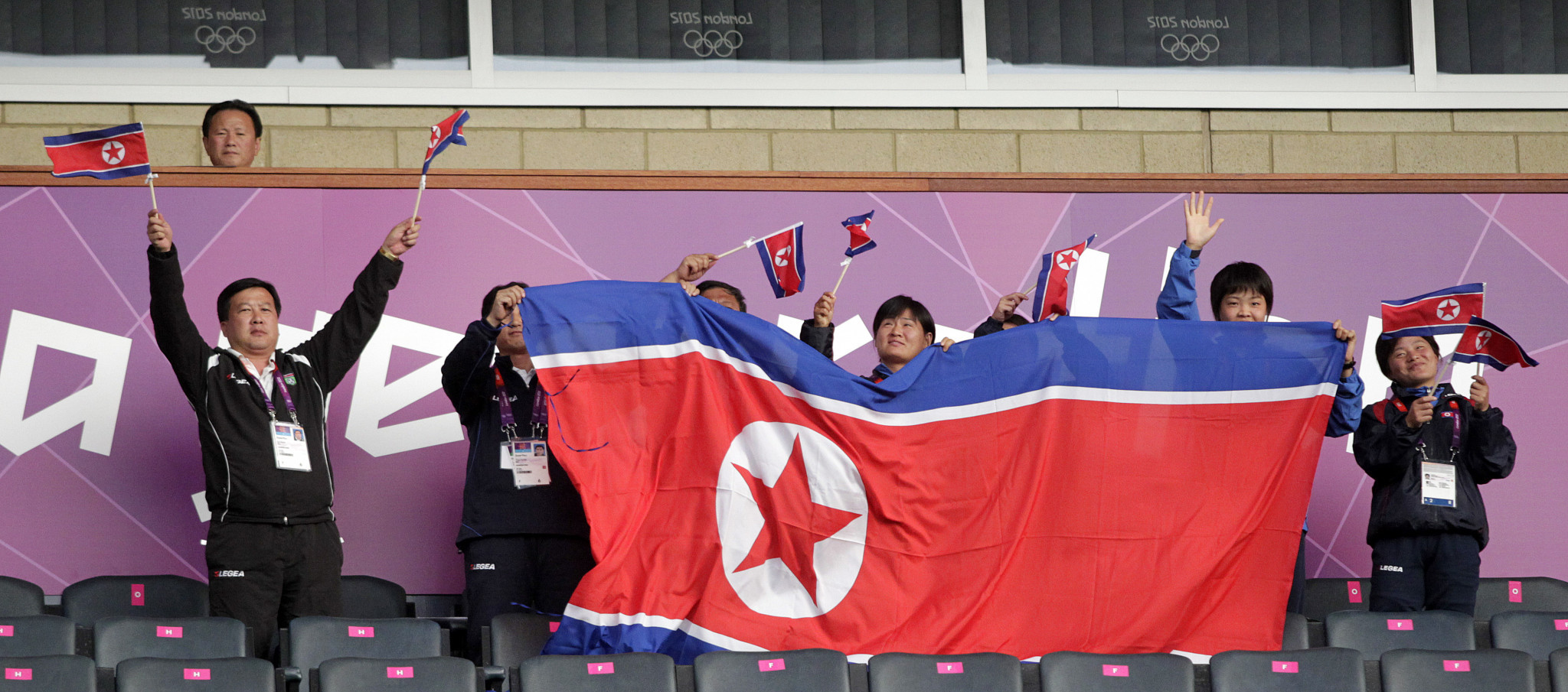 North Korea's women's football team competed at Beijing 2008 and London 2012 but will miss Tokyo 2020 after withdrawing from the AFC Women's Olympic Qualifying Tournament in South Korea ©Getty Images