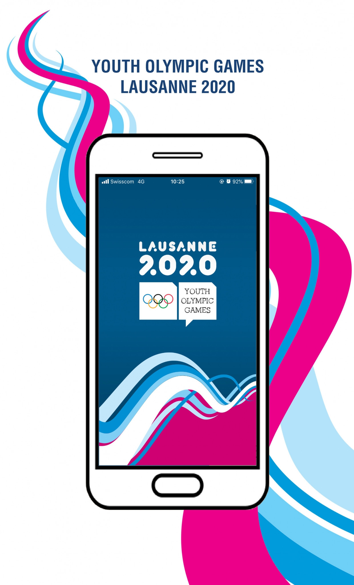 Lausanne 2020 has launched its mobile app ©Lausanne 2020