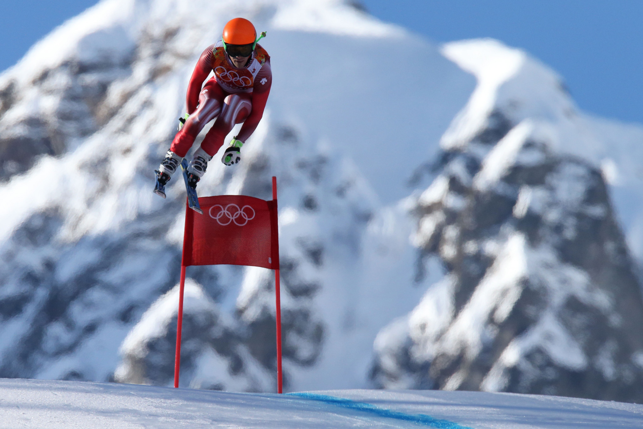 Sandro Viletta won the Olympic gold medal in the combined at Sochi 2014 ©Getty Images