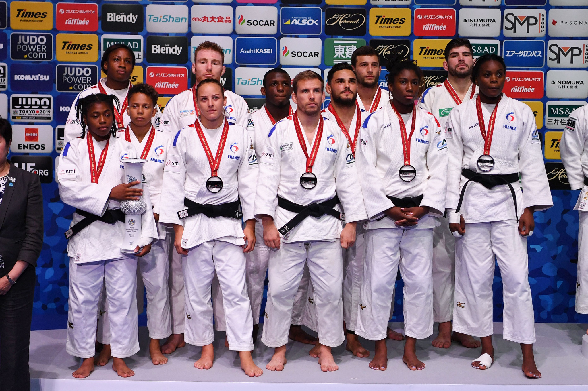 Vizer looks ahead to Olympic debut of mixed team judo in New Year's message