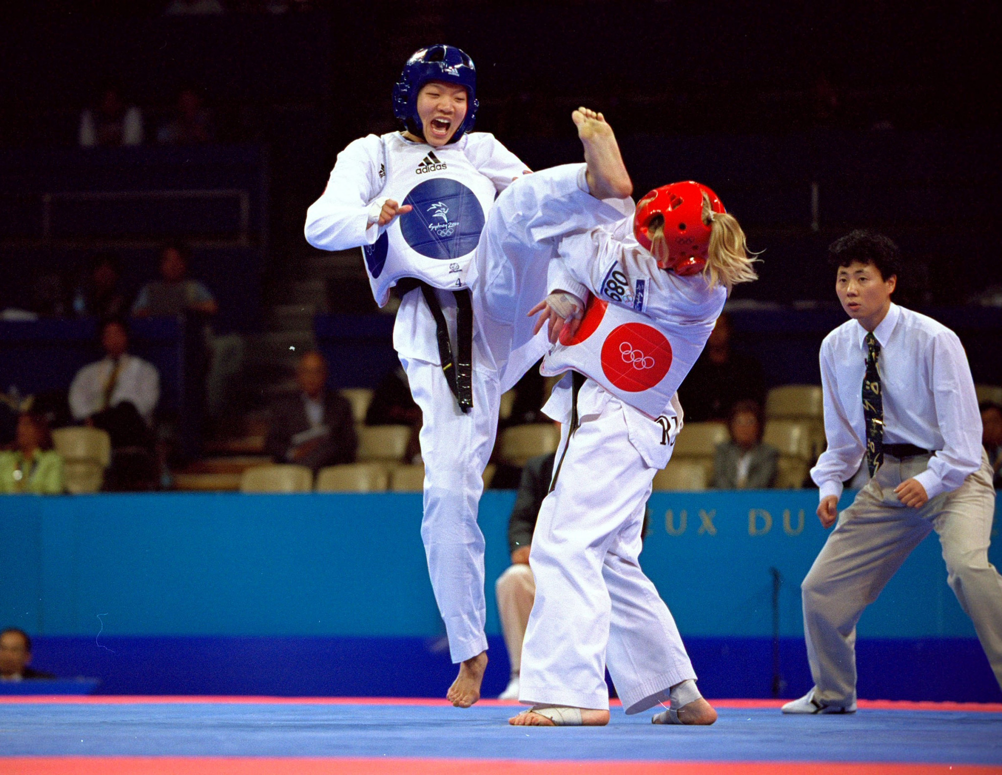 Tokyo 2020 will mark 20 years since taekwondo's Olympic debut at Sydney 2000 ©Getty Images