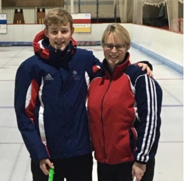 Olympic curling champion guides son towards Lausanne 2020