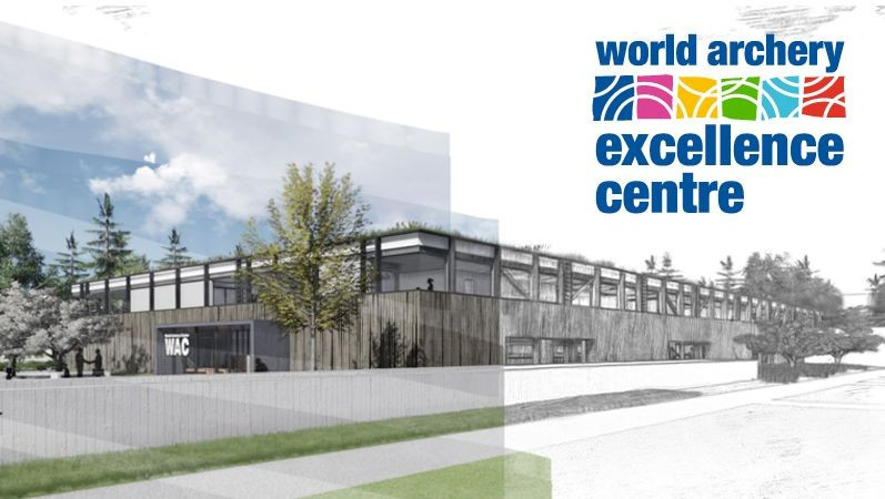 Logo unveiled for new World Archery Excellence Centre