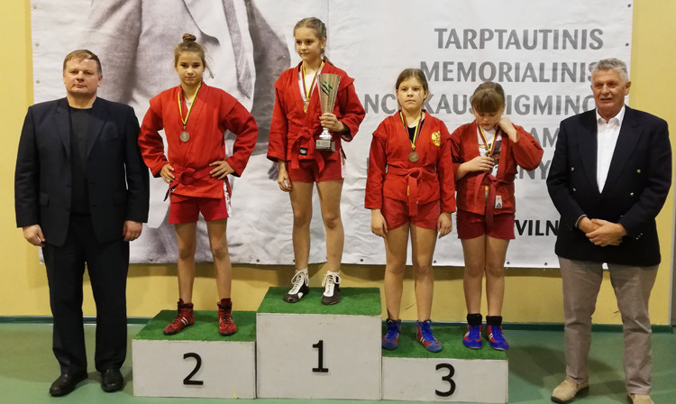 Lithuania won the team event at the youth tournament ©FIAS