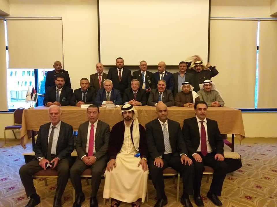 Al Mana re-elected Arabic Weightlifting Federation President