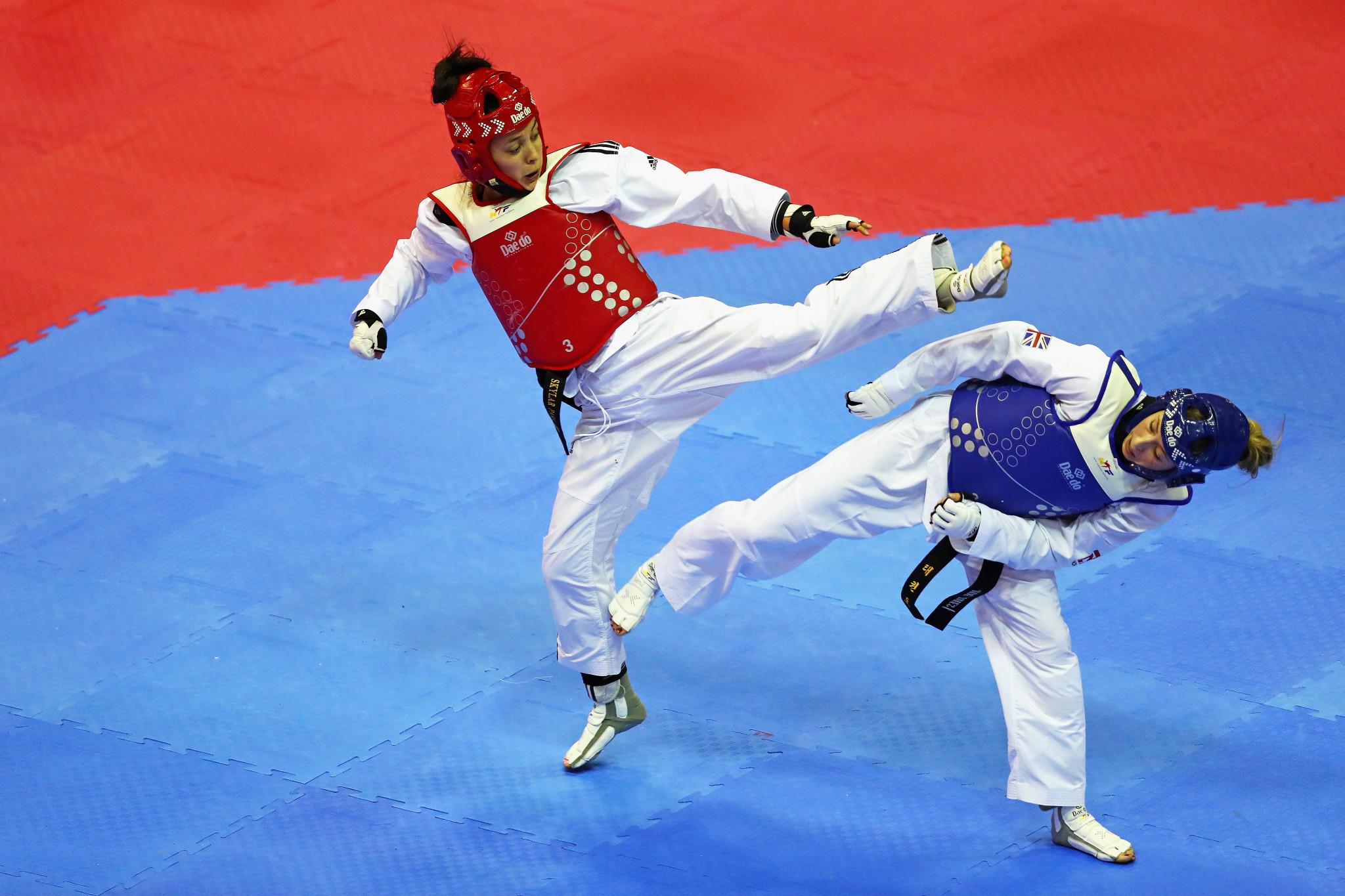 Taekwondo Canada President congratulates Park on Olympic qualification