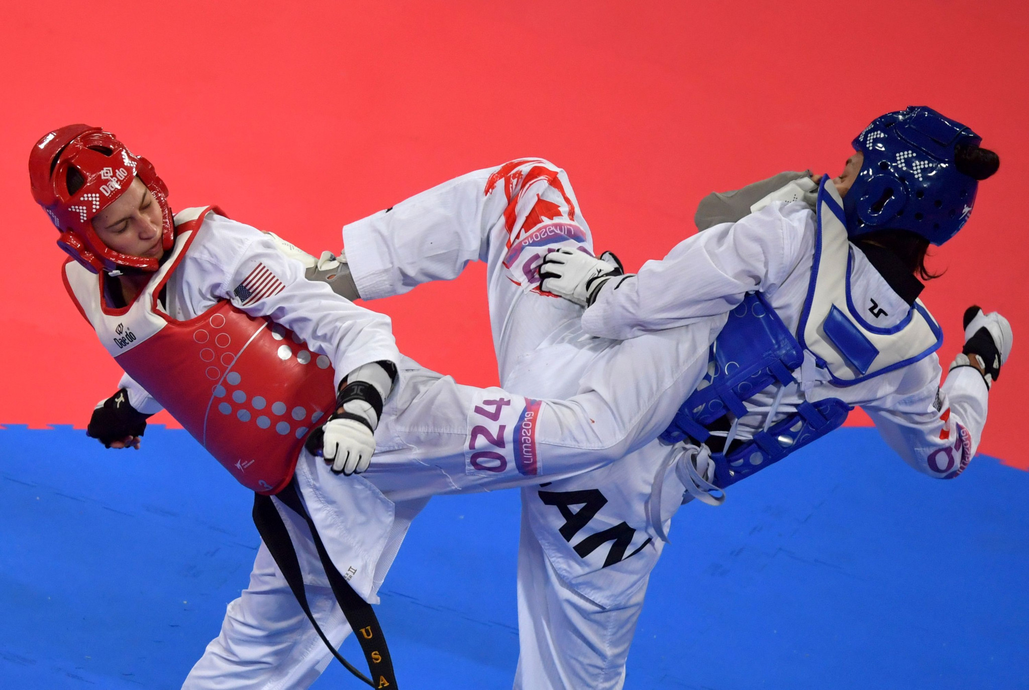 Skylar Park, right, won World Championship bronze and Pan American Games silver last year ©Getty Images
