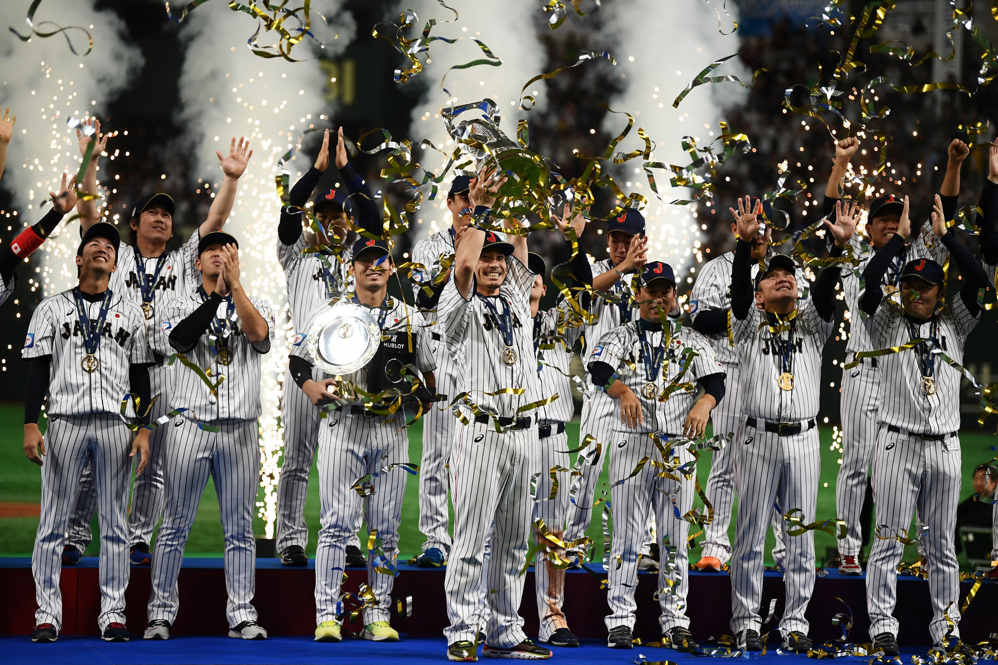 Japan won the 2019 WBSC Premier12 title ©Getty Images