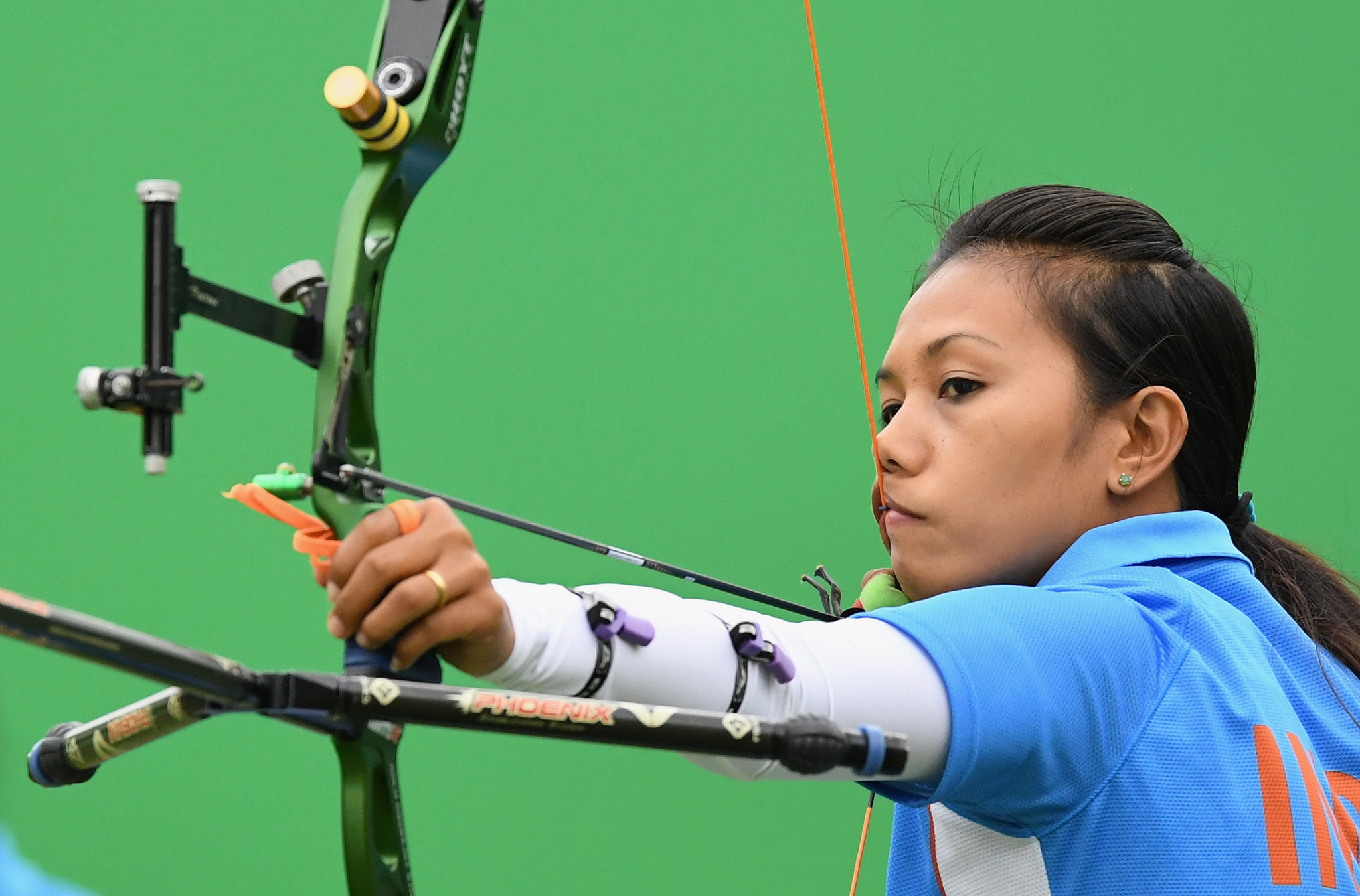 Bombayla Devi Laishram has also travelled to Pune for the three-day event ©Getty Images