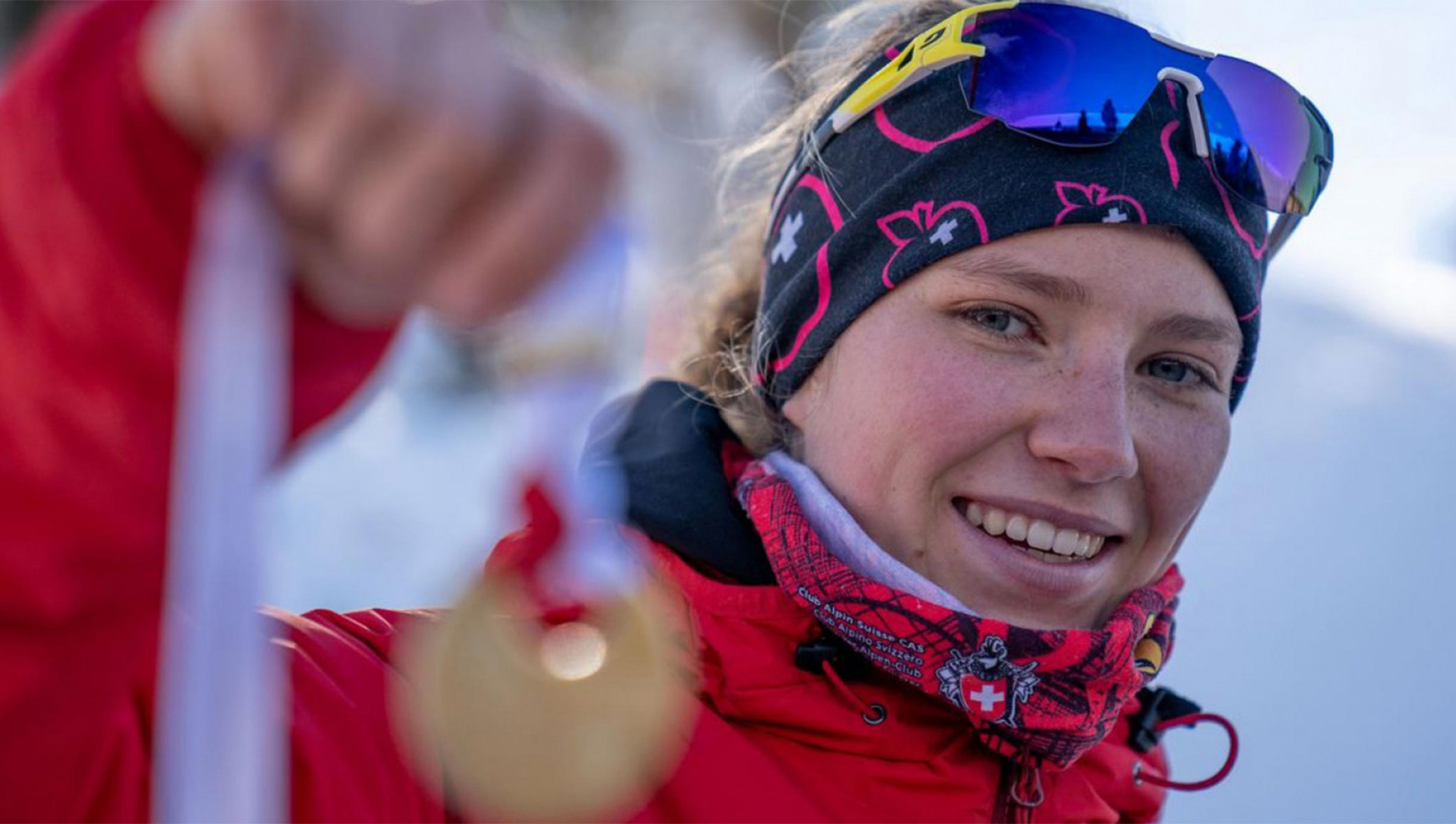 Thibe Deseyn is relishing competing in ski mountaineering at Lausanne 2020 ©IOC